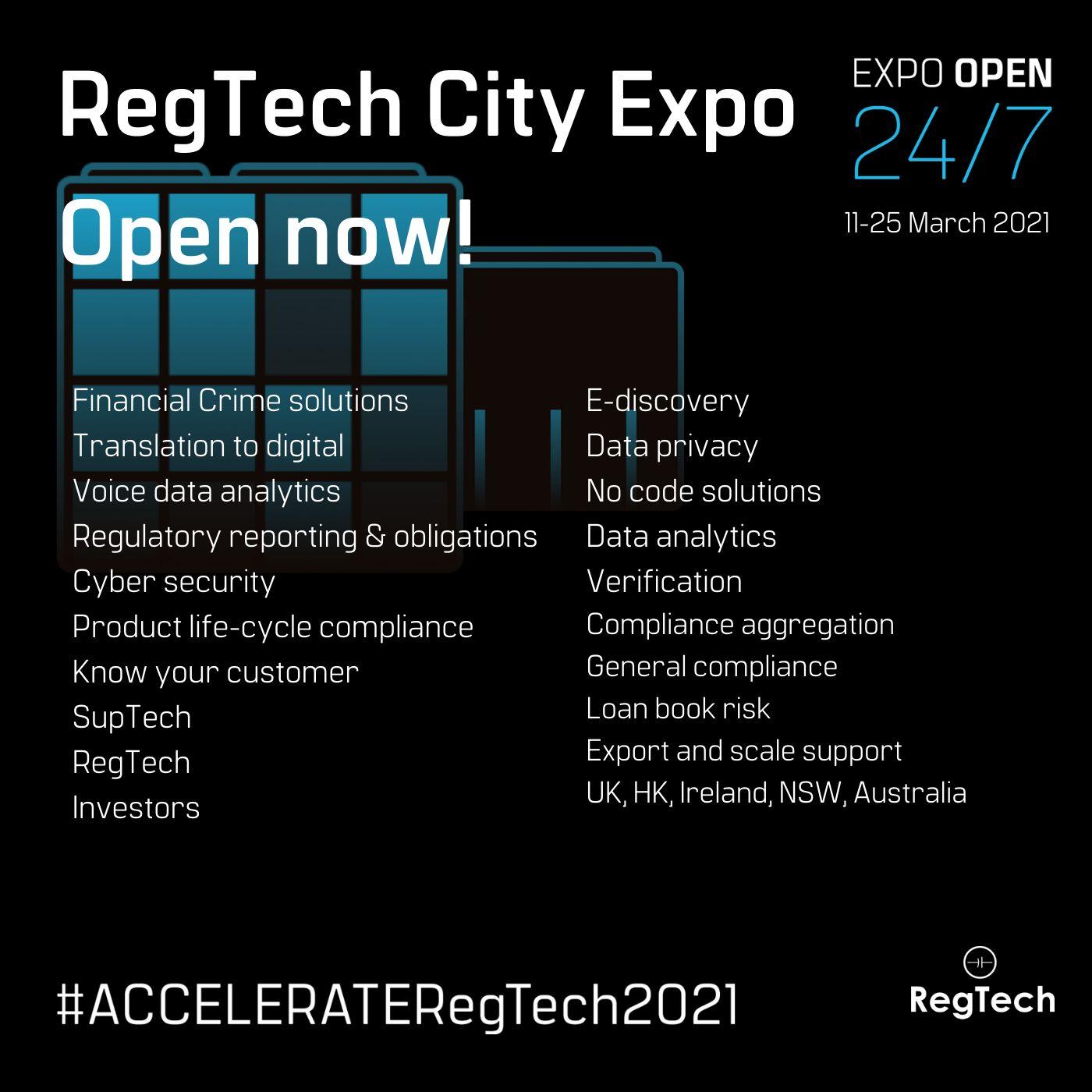 #ACCELERATERegTech2021