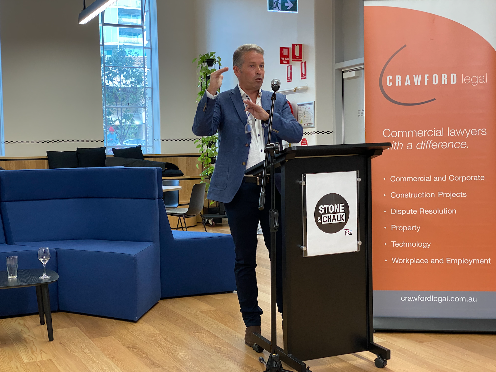 Our CEO, Cliff Garrels, speaks at Stone and Chalk